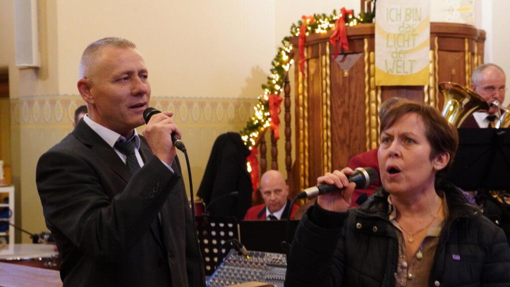 Was im letzten Jahr erstmals seit vielen Jahrzehnten wieder Teil des Programmes und ein toller Erfolg war, fand in diesem Jahr seine Fortsetzung: das Mitwirken von Gesangssolisten.