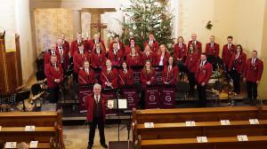 Das Orchester beim Weihnachtskonzert 2019